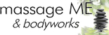 massage ME & bodyworks Mobile Logo